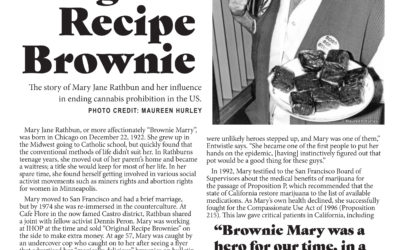Green Tree Medicinals Berthoud Celebrating the Life of Brownie Mary Rathbun